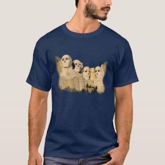 Camiseta Crânios do Monte Rushmore