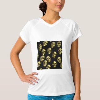 Camiseta Crânios quentes, casca de ovo