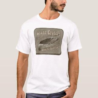 Camiseta Cratera gigante engraçada