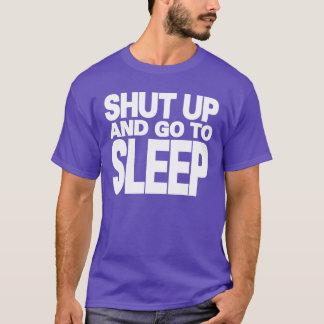 Camiseta CRAZYFISH fechados acima e vão dormir