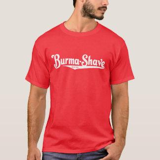 Camiseta Creme de rapagem do Burma-Shave