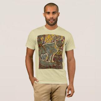 Camiseta creme de vidro da pintura de theodore