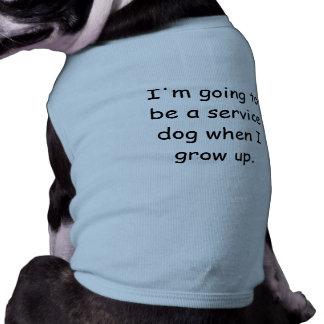 Camiseta Cresça acima a camisa do animal de estimação do cã