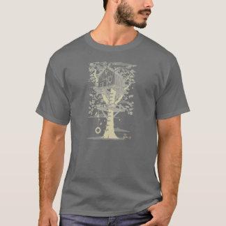 Camiseta Cresça acima o t-shirt da casa na árvore