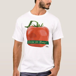 Camiseta Cresça-o bebê! - T do tomate