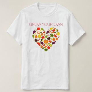 Camiseta Cresça seus próprios