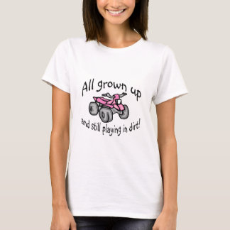 Camiseta Crescido toda acima e ainda jogando no