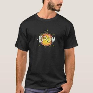 Camiseta Crescimento da explosão dos desenhos animados