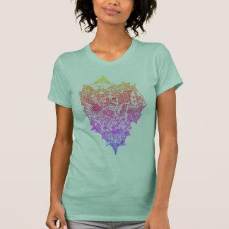 Camiseta Criança de flor