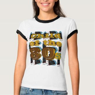 Camiseta Criança do anos 80 -
