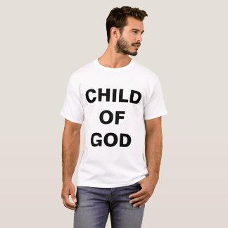 """Camiseta """"Criança o t-shirt dos homens do deus"""""""