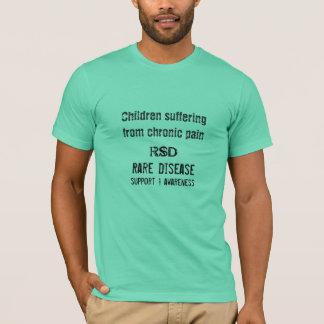 Camiseta Criança, RSD, doença rara, apoio