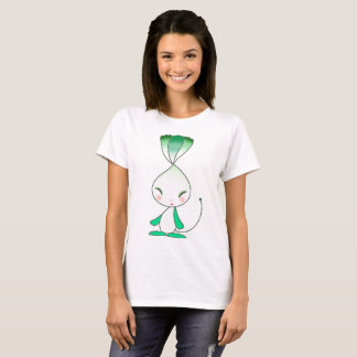 Camiseta Criança vegetal bonito