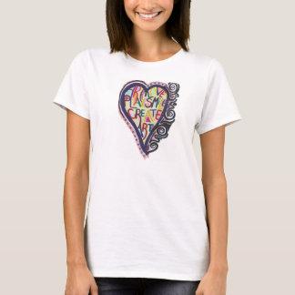 Camiseta Criar a arte (logotipo de LGSArt T)