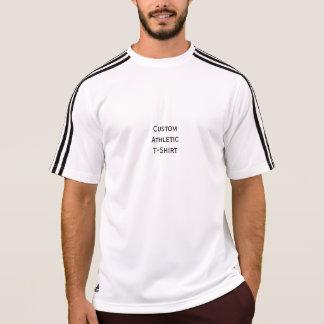Camiseta Criar o T ativo atlético feito sob encomenda do