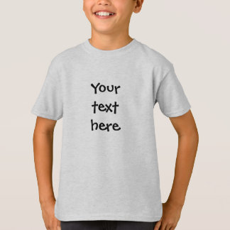 Camiseta Criar seu próprio costume