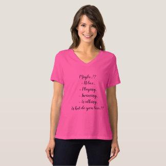 Camiseta Criar seu próprio design de texto feito sob