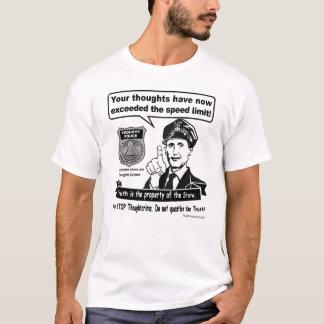 Camiseta Crime do pensamento