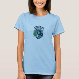 Camiseta Crista apertada do guerreiro de Dogtag do punho