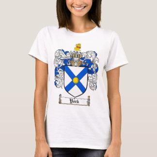 Camiseta Crista da brasão de York/família de York