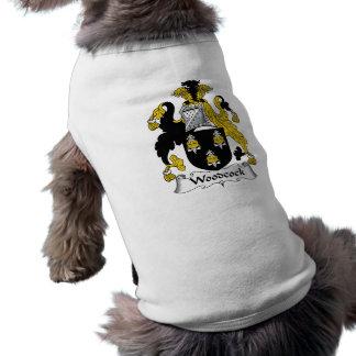 Camiseta Crista da família da galinhola