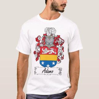Camiseta Crista da família de Adamo