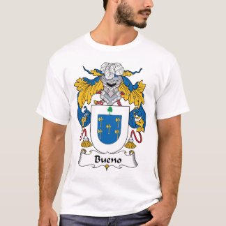 Camiseta Crista da família de Bueno