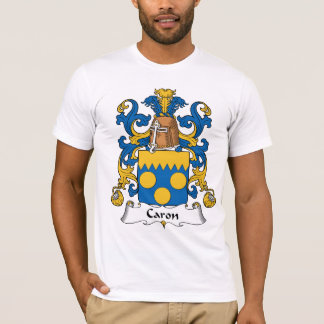Camiseta Crista da família de Caron