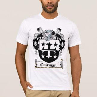 Camiseta Crista da família de Coleman