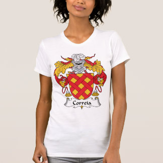 Camiseta Crista da família de Correia