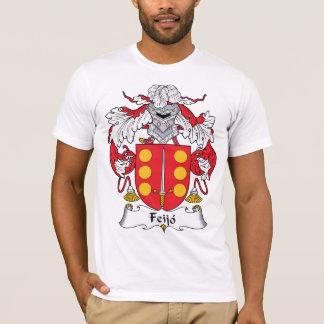Camiseta Crista da família de Feijo