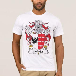 Camiseta Crista da família de Galvao