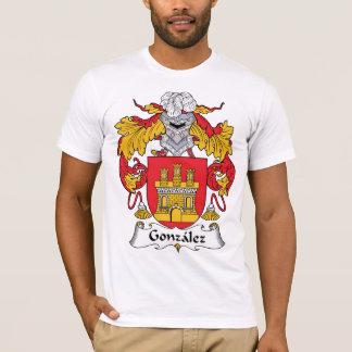 Camiseta Crista da família de Gonzalez