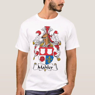 Camiseta Crista da família de Mahler