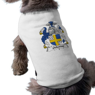 Camiseta Crista da família de Osborne
