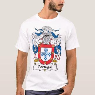 Camiseta Crista da família de Portugal
