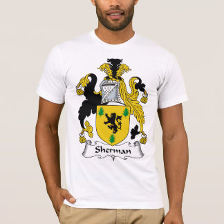 Camiseta Crista da família de Sherman