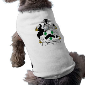 Camiseta Crista da família de Thornton