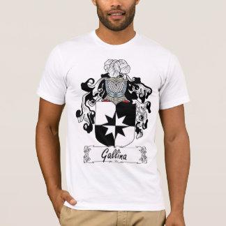 Camiseta Crista da família do Gallina