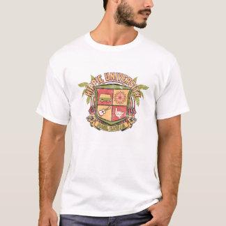 Camiseta Crista da universidade do Hippie - o T de homens