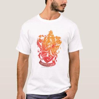 Camiseta Crista de Harry Potter | Gryffindor - Splattered