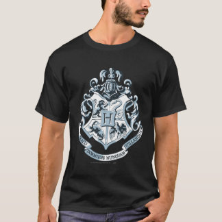 Camiseta Crista de Harry Potter | Hogwarts - azul