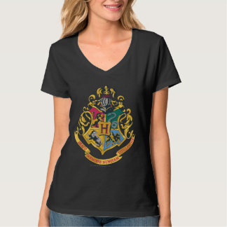 Camiseta Crista de Harry Potter   Hogwarts - cor completa