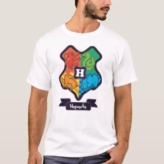 Camiseta Crista de Hogwarts dos desenhos animados