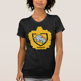 Camiseta Crista de Hufflepuff dos desenhos animados