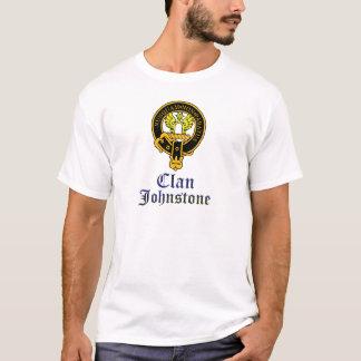 Camiseta Crista de Johnstone e nome escoceses do clã do