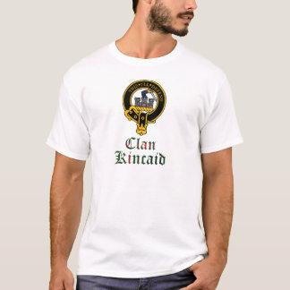 Camiseta Crista de Kincaid e nome escoceses do clã do