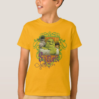 Camiseta Crista do grupo de Shrek