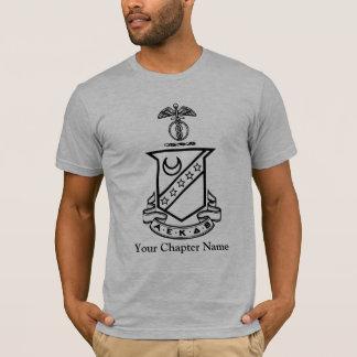 Camiseta Crista do Sigma do Kappa - preto e branco