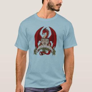 Camiseta Crista dos dragões de Stonefire (vermelha), o
